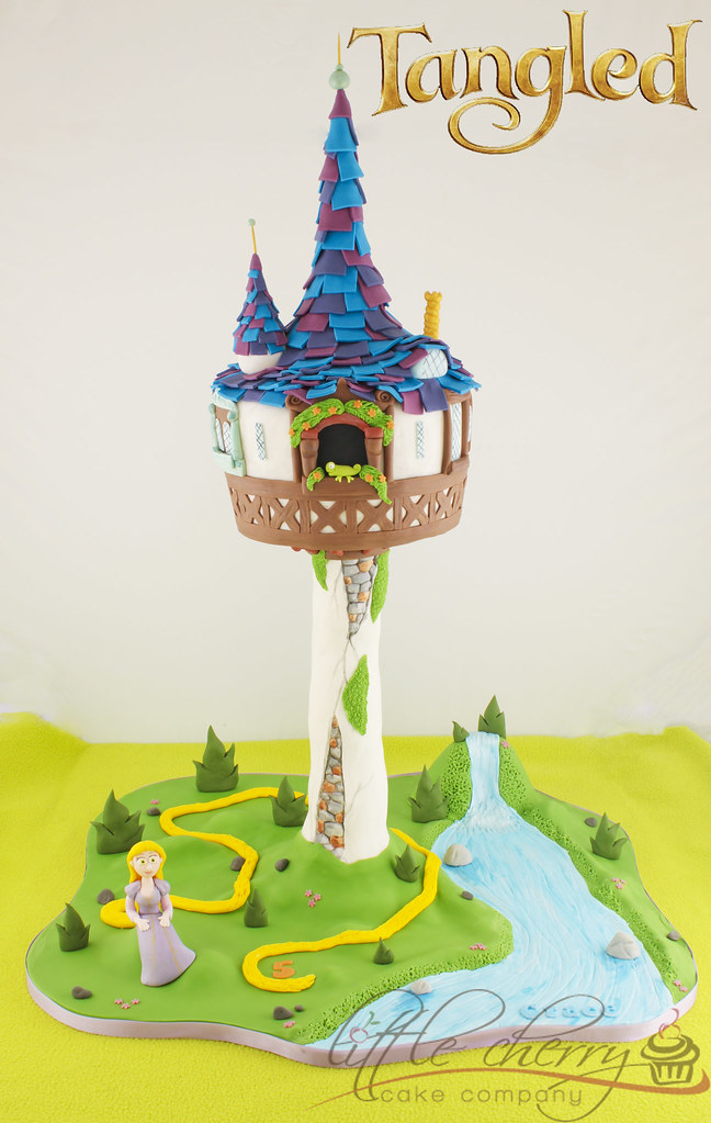 Rapunzel Cake Tower Topper