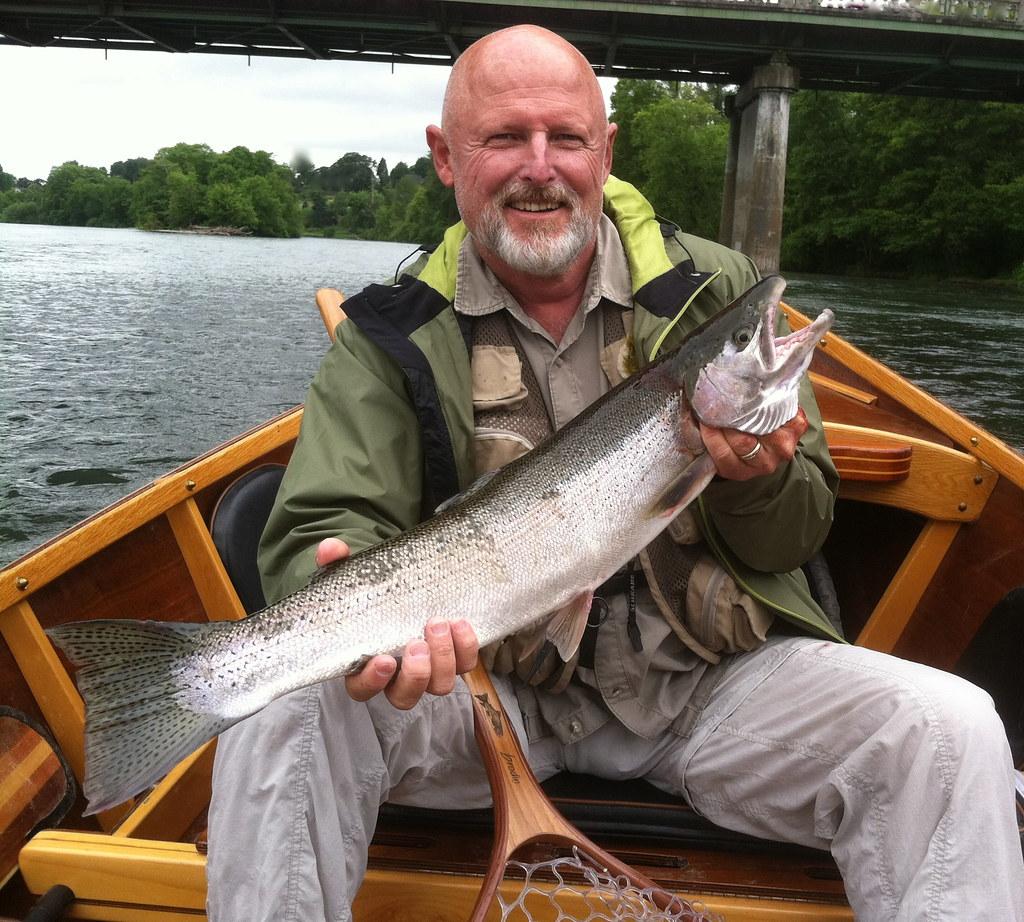 Willamette river summer steelhead chris daughters flickr for Willamette river fishing report
