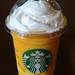 Mango Passion Tea Frappuccino with Mango Pudding