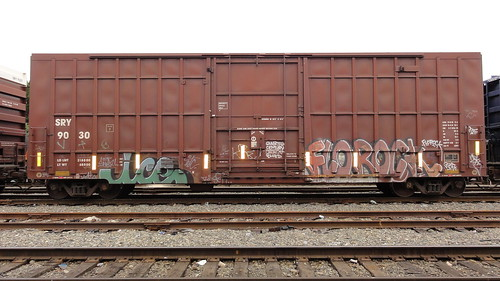 Interbay Tracks 7 | by leftcoastletters