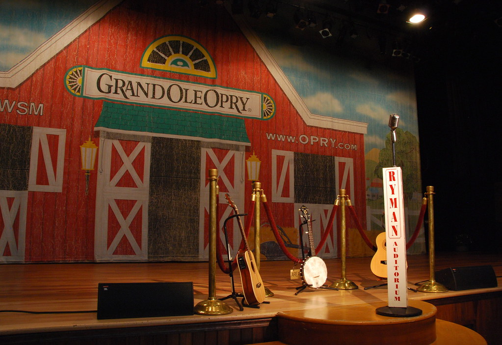 Ryman Stage Ryman Auditorium Former Home Of The Grand