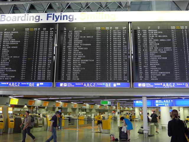Frankfurt Departure