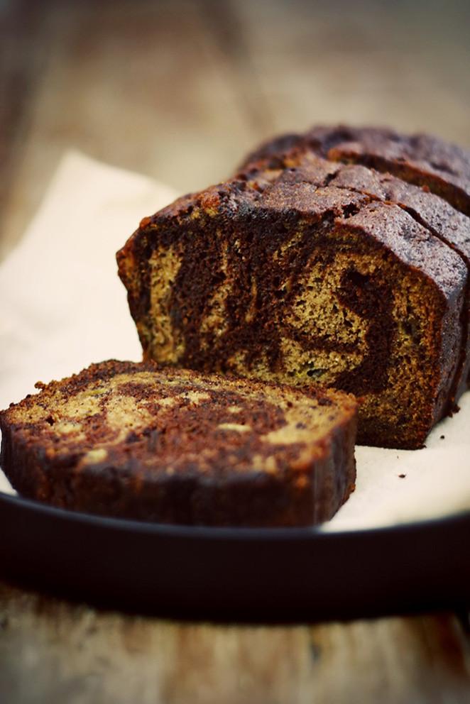 Chocolate Cinnamon Banana Bread