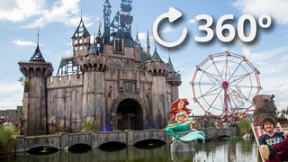 Youtube Banksy Dismaland 360 video