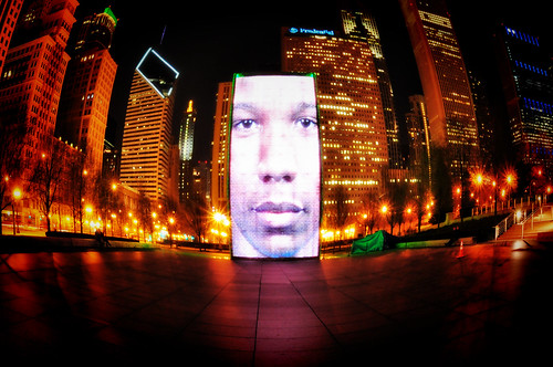 Crown Fountain ala Fisheye | by Seth Oliver Photographic Art