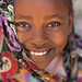 Portrait Of A Cute Girl In Lamu, Kenya