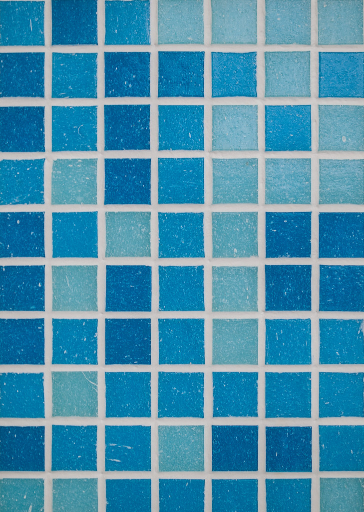 Blue Bathroom Tile Texture