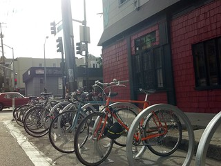 Bike Corral at Zeitgeist Bar | by sfbike