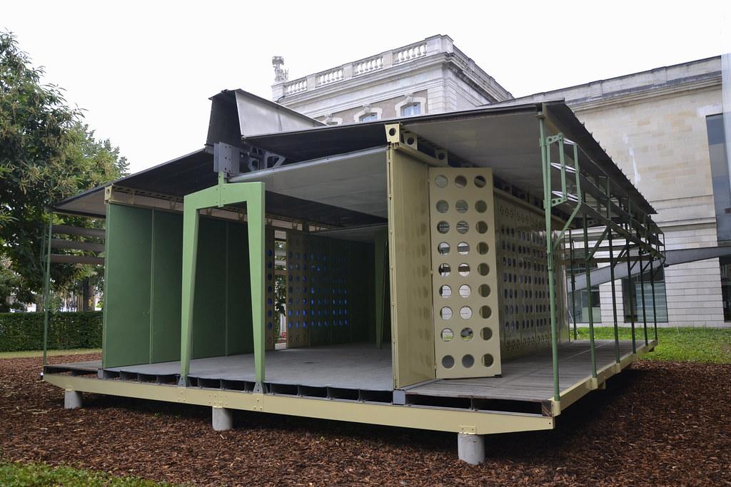 Maison tropicale prototype de jean prouv exemplaire const flickr - Maison de jean prouve ...
