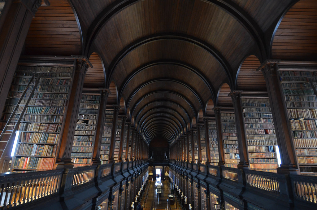 Trinity College Library Dublin Ireland Trinity College Library Long