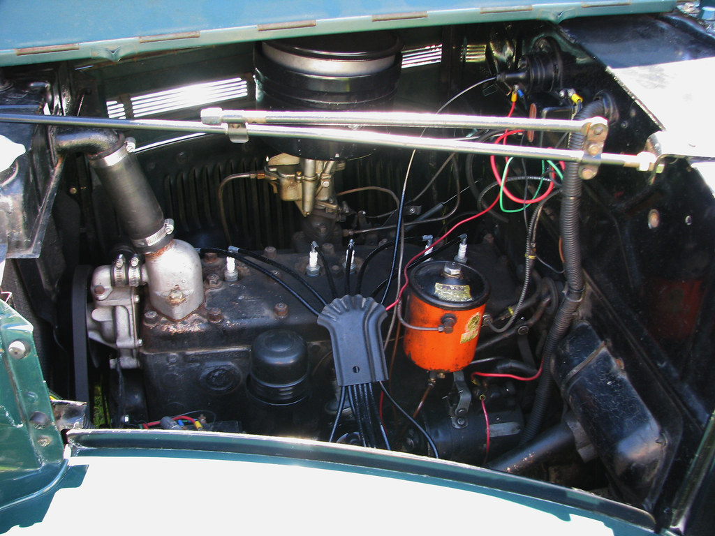 File 1952 ford crestline sunliner convertible in addition 1951 FORD CUSTOM CONVERTIBLE 117376 as well SliderDragster in addition Identifying The Correct Spark Plug And Gap also 83811. on flathead engine