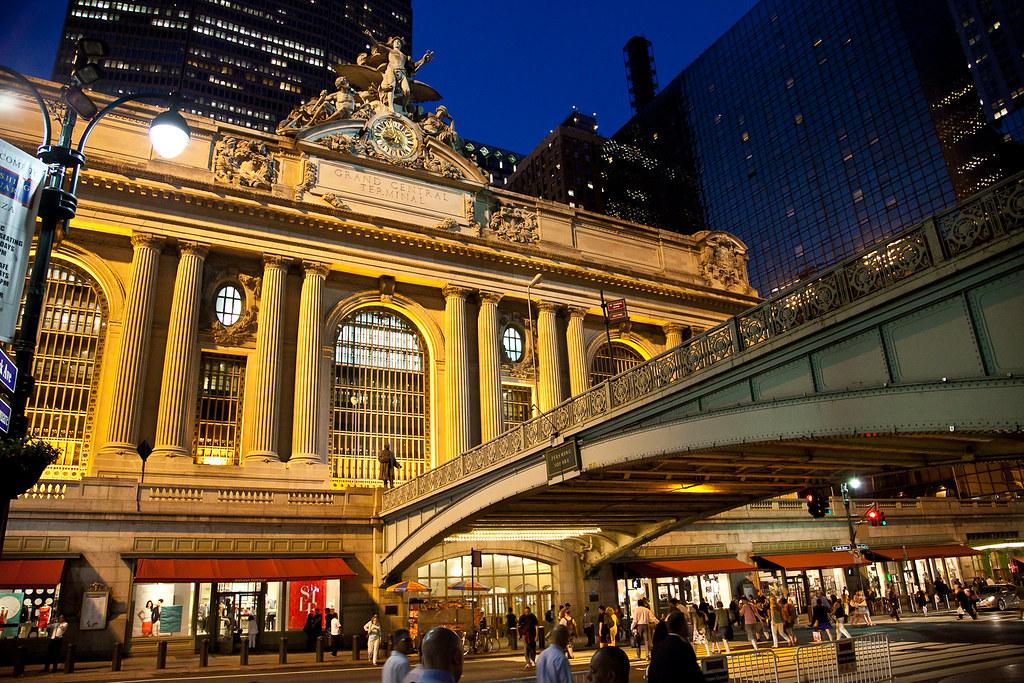 Grand central station new york city at night joel - Grand tapis new york ...