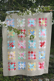 granny squares quilt top!! | by sewdeerlyloved
