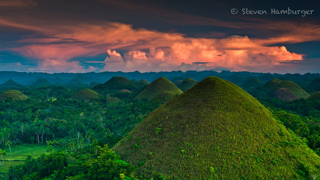 These hills in the Philippines look like a fairy tale   Chocolate Hills, Bohol, Philippines
