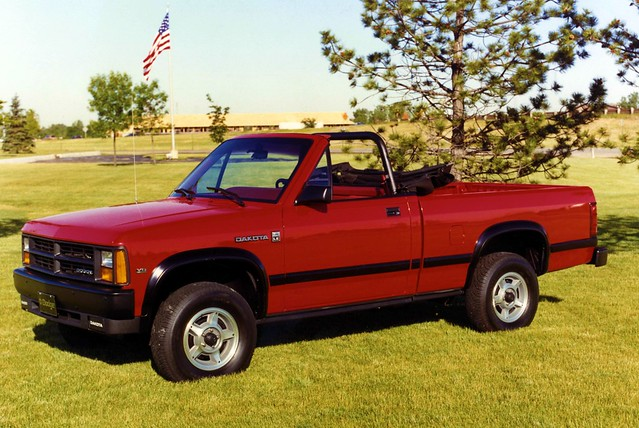 1989 dodge dakota convertible pickup truck flickr photo sharing. Black Bedroom Furniture Sets. Home Design Ideas