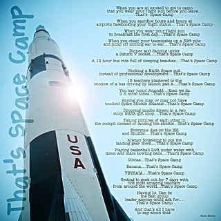That's Space Camp | by venspired