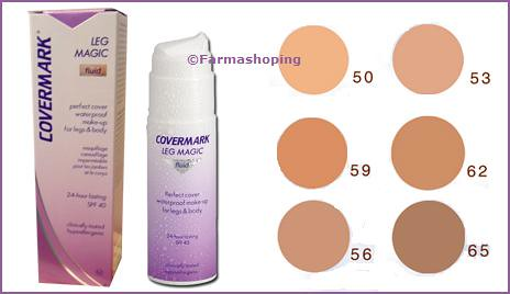 maquillaje covermark leg magic