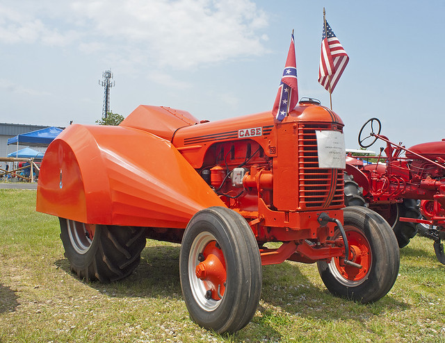1947 Case Tractor : Case do orchard tractor flickr photo sharing
