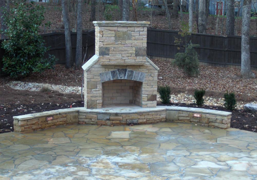 Atlanta Hardscape Fireplaces Arnoldmasonryandlandscape