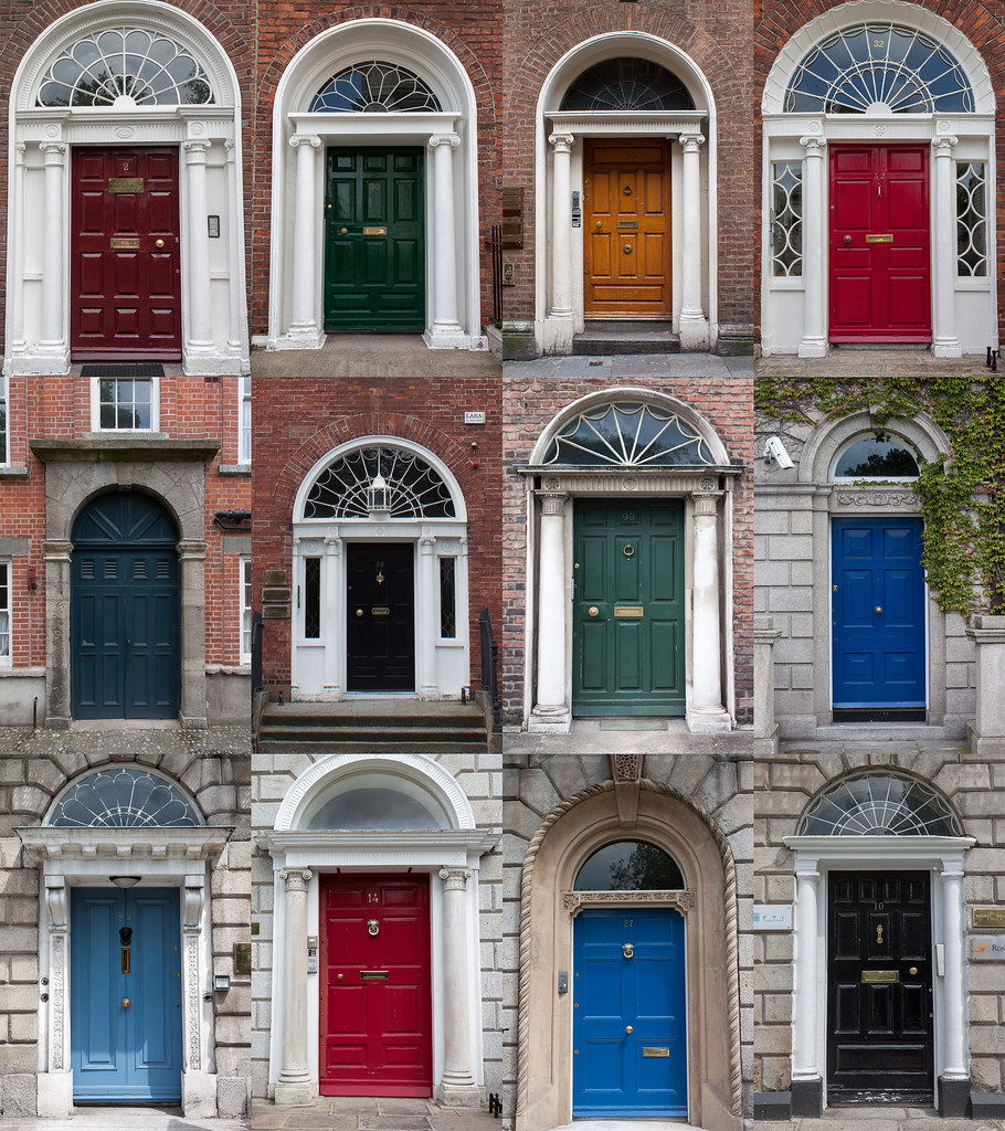 & The Doors of Dublin | About three weeks ago I went on a busu2026 | Flickr