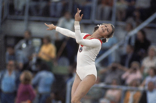1972 Olga Korbut at the 1972 Summer Olympics ©Heinz Kluetmeier | by Royal Opera House Covent Garden