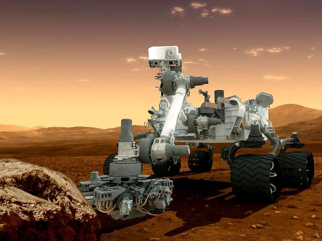 NASA's Curiousity Mars Rover