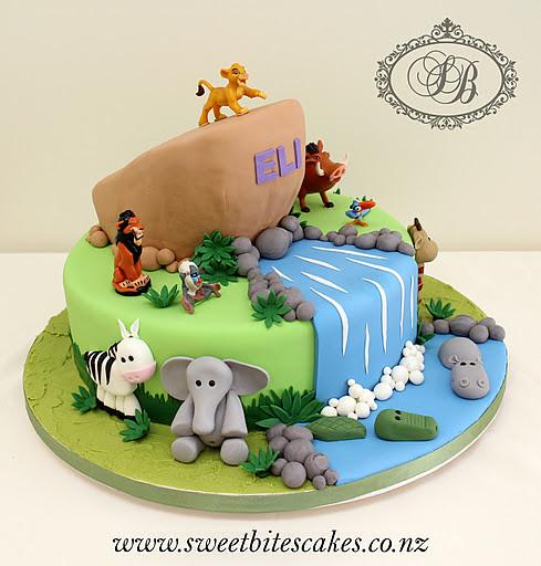 Lion King Cake Sondra Vicelich Flickr