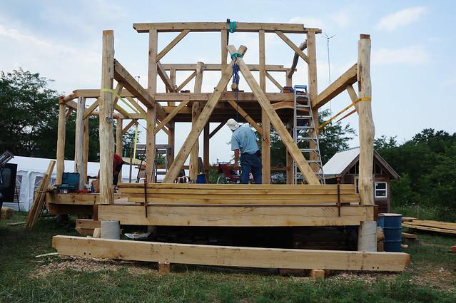 Timber Frame Porch Beam Flickr Photo Sharing