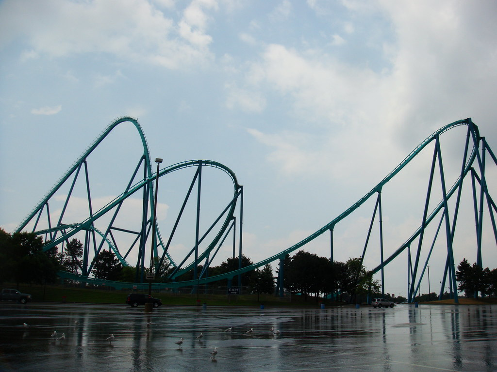 Leviathan roller coaster at Canada's Wonderland | The ...
