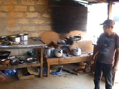 A kitchen in Nepal