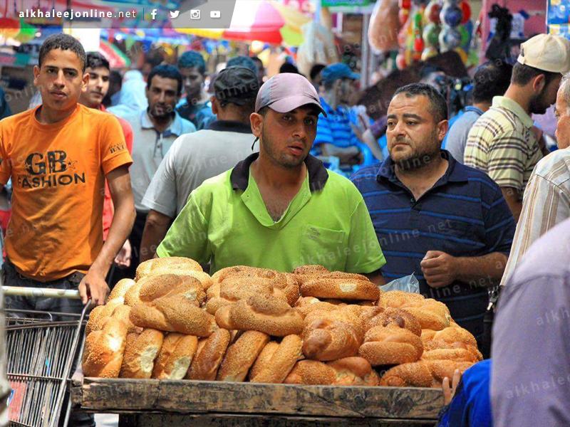 الكعك في غزة