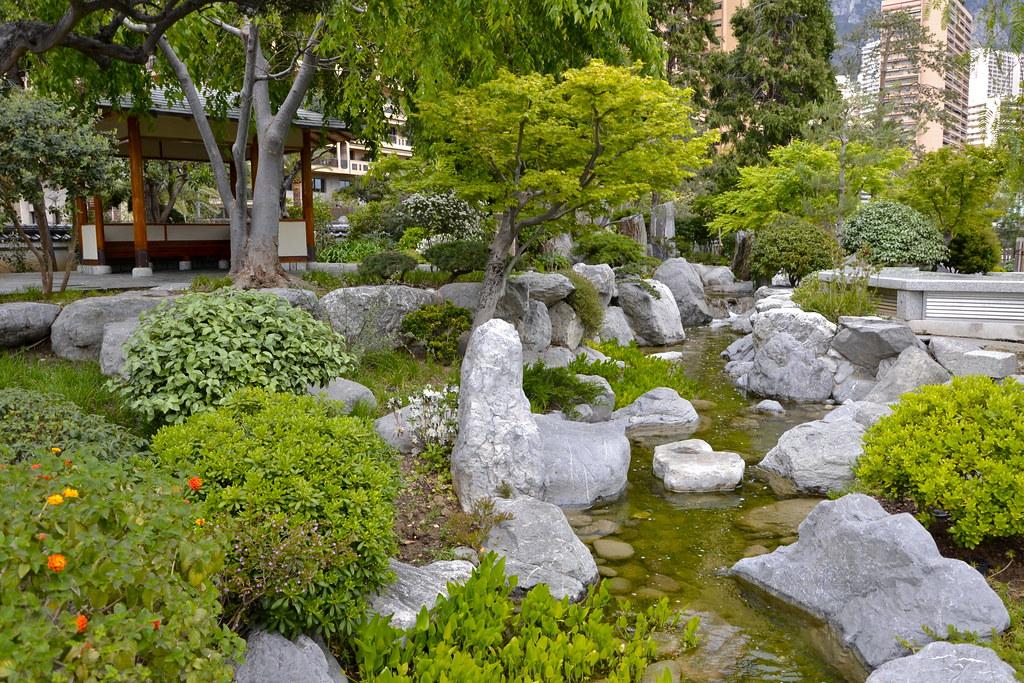 Le jardin japonais de monaco alexandre pr vot flickr for Alexandre jardin le zubial