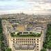 Montmartre et la Basilique du Sacré-Cœur de l'Arc de Triomphe