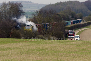 70018 On fire near Wallers Ash Loop | by Perfect Moment Images