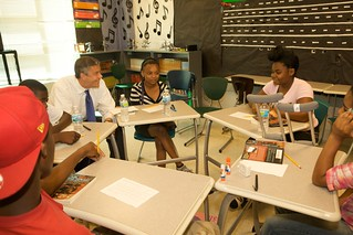 AD in St Louis, MO Event Vashon HS Summer School Program 25June2012 | by US Department of Education
