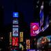 Neon Night - Times Square - New York