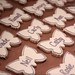 Lilac & White Butterfly Place Setting Cookies