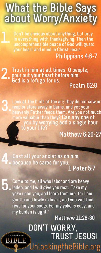 Biblijski verzi o skrbi za premagovanje tesnobe Www-9231
