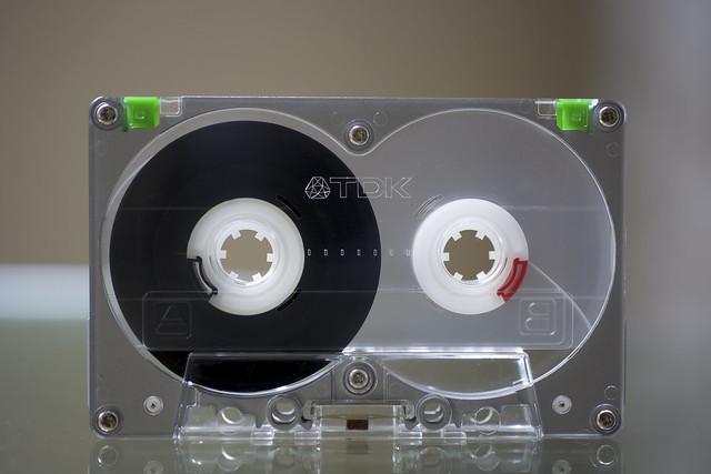heavy metal  tdk ma-r90 cassette tape
