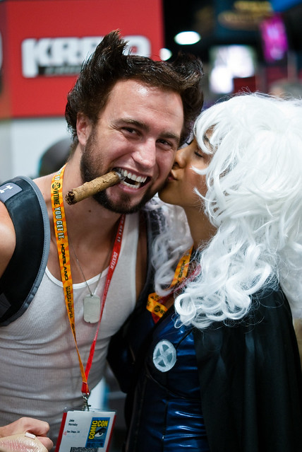 Storm Kissing Wolverine Flickr Photo Sharing