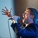 Damon Albarn performing on Orange Stage at Roskilde Festival for Gorillaz. ©Bill Ebbesen 2010