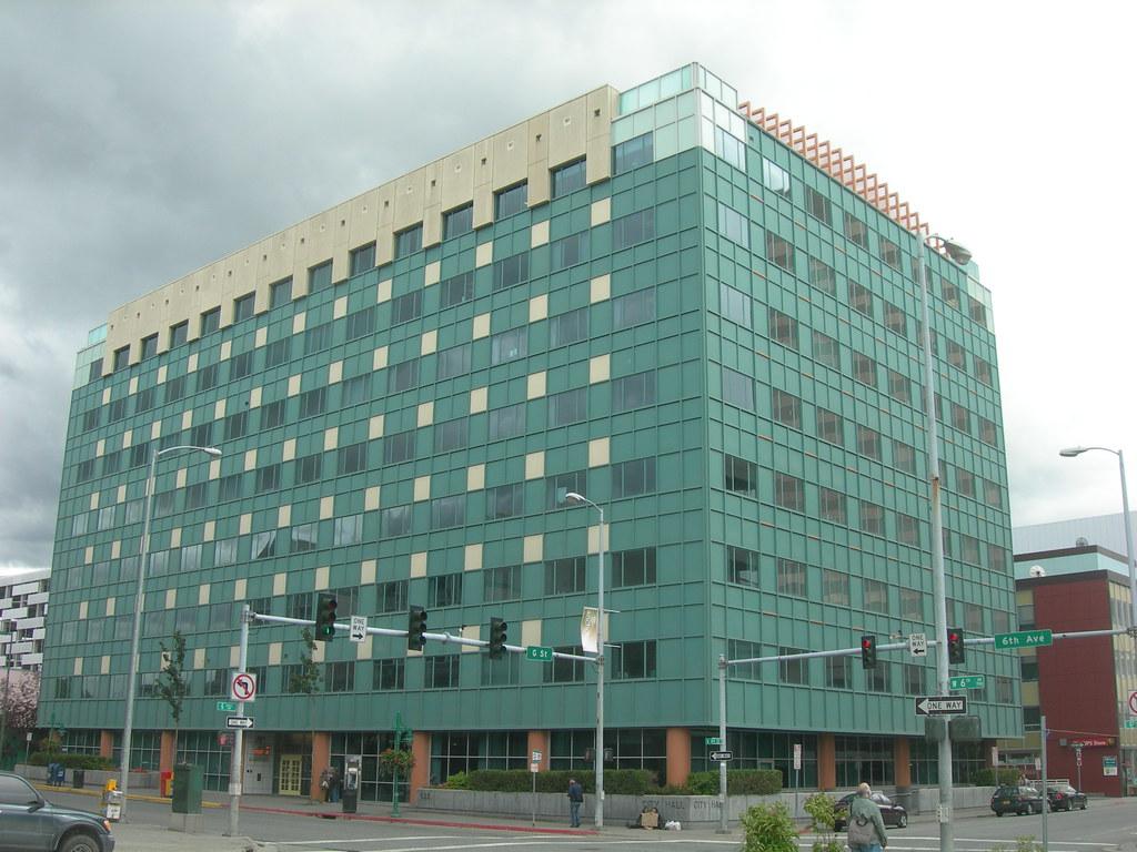 Anchorage City Hall Anchorage Alaska Jimmy Emerson