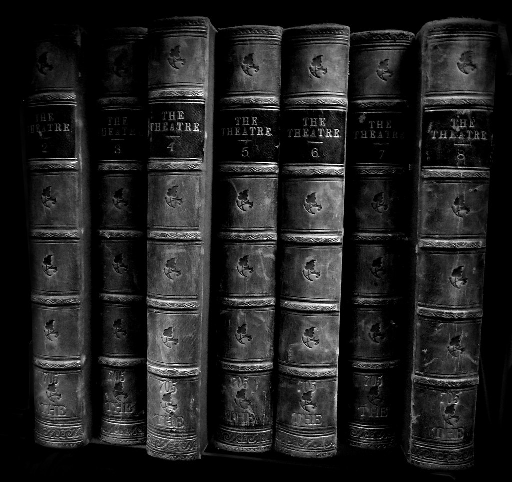 Volumes Two To Eight The Theatre The Bindings Caught