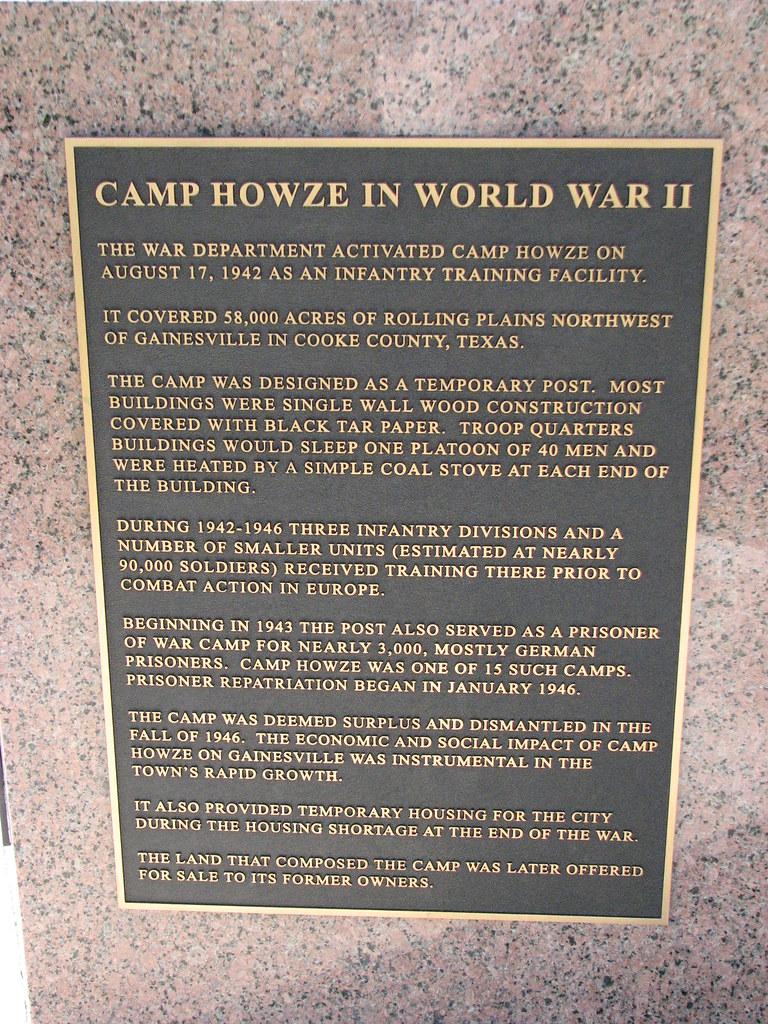 Camp Howze in World War II | Texas Visitors Center WWII Memo… | Flickr