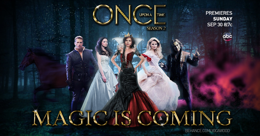 Once Upon a Time Season 2 Poster | Main poster of ...