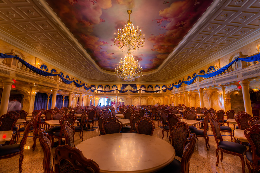 Magic kingdom be our guest ballroom i finally got to for 3 dining rooms at be our guest