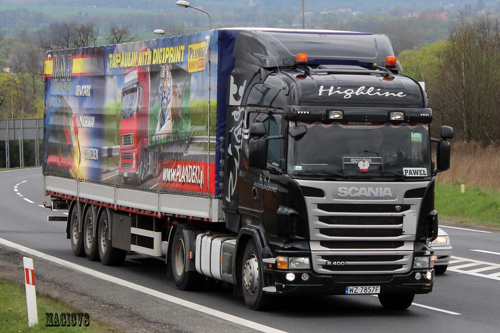 J And M Auto >> Scania R II B&J autotransport (PL) | Łukasz | Flickr