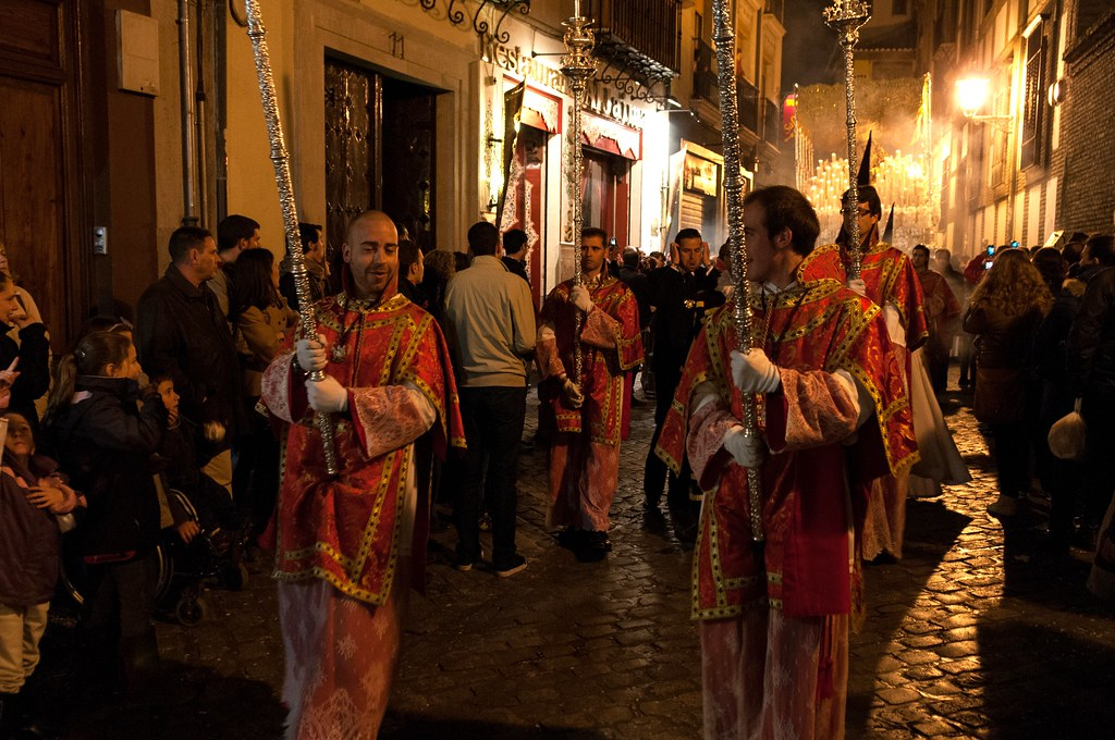 Semana Santa Procession In Granada Spain Spain Is