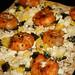 Chipotle Shrimp, Pineapple & Feta Flatbread