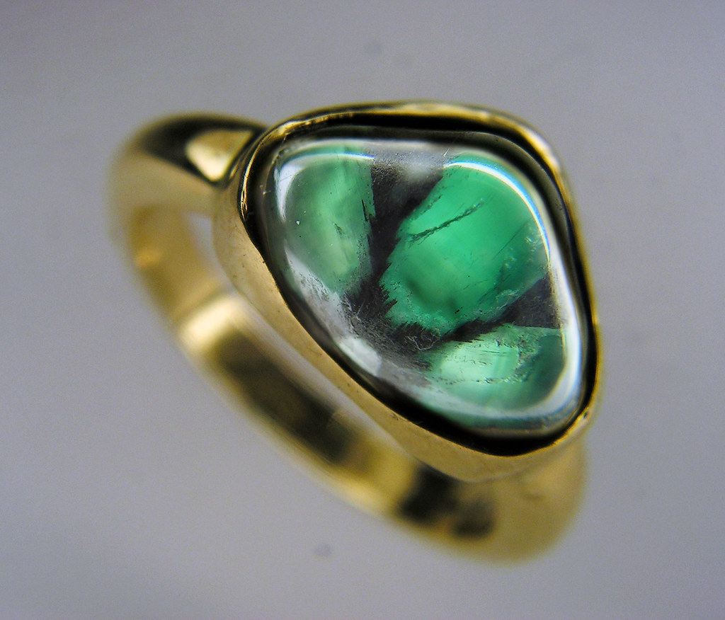 emerald ring en trapiche emerald ring these fascinating